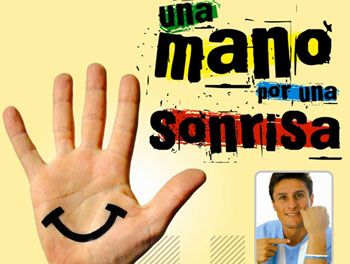 A Hand for a Smile Campaign.