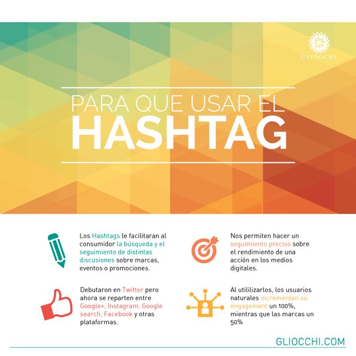 Para que usamos el Hashtag