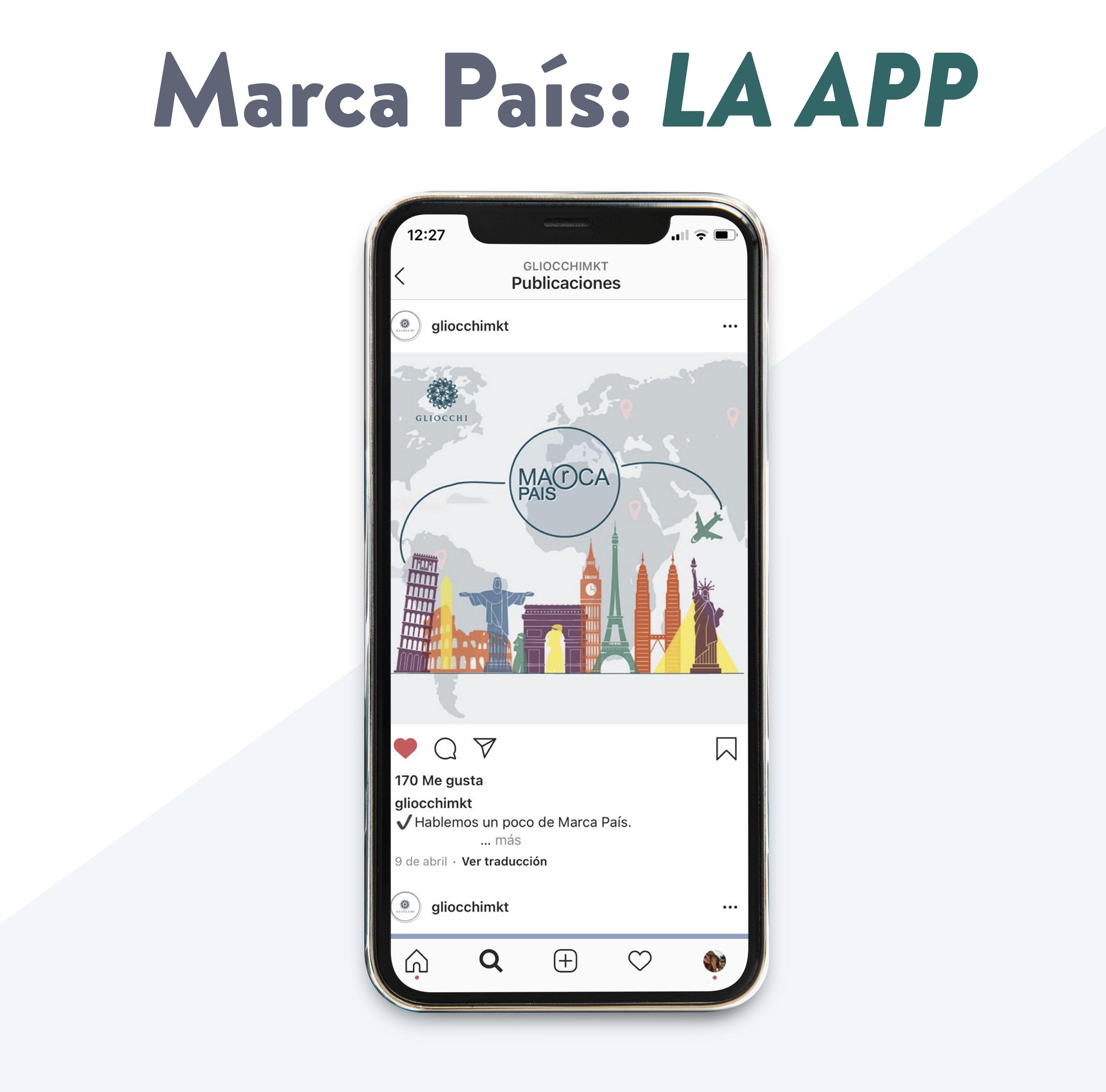 Presentación de la Apps Marca País (Provincia, ciudad)