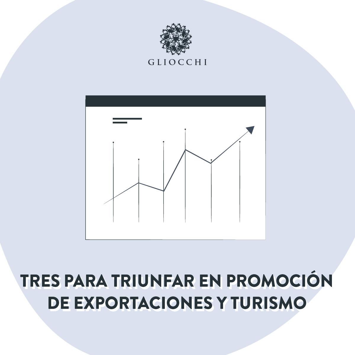 Tres para Triunfar en promoción de exportaciones y turismo